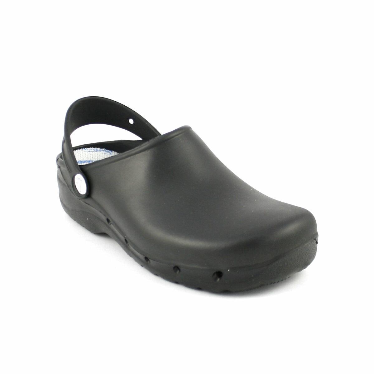 venta caliente online 275a3 25d59 Feliz Caminar - Zueco de trabajo de goma » Calzados Dorado